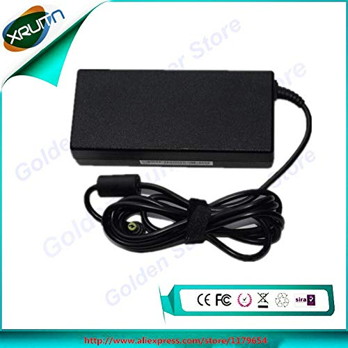 Pukido Genuine laptop adapter for Acer 19V 6.32A 120W 5.5x1.7mm 100% Compatible with P/N: AK.120AP.022,ADP-120ZB BB, A11-120P1A - (Plug Type: EU)