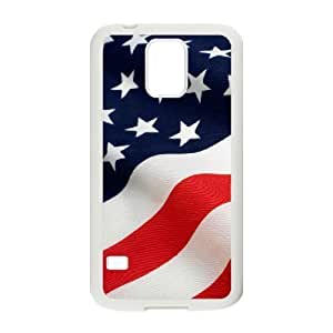 Custom Colorful Case for SamSung Galaxy S5 I9600, American Flag Cover Case - HL-R643171