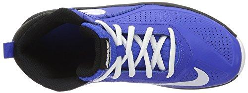 Nike Team Hustle D 7 (GS), Zapatillas de Baloncesto Para Niños Azul (Game Royal / White Black)