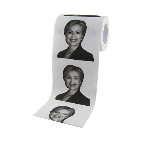Hillary Clinton For President 2016 Toilet Paper TP Tissue Roll
