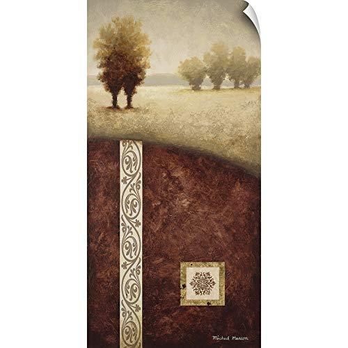CANVAS ON DEMAND Transitional Landscape I Wall Peel Art Print, 36