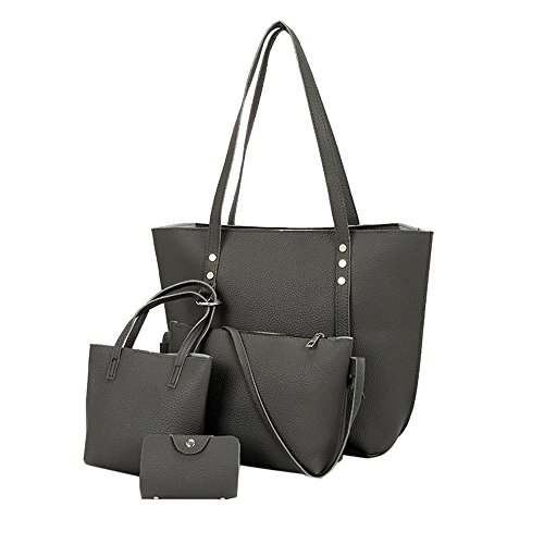 Leather Crossbody Handbag - 7
