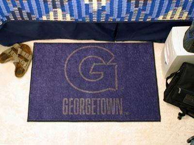Georgetown Football Rug (Georgetown University Starter Rug)