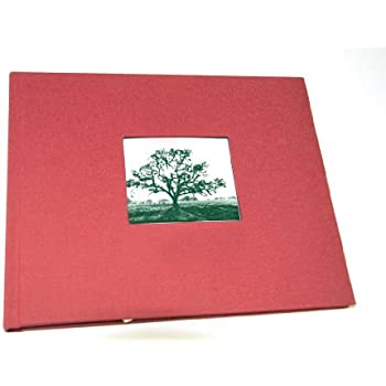 Amazoncom Guest Book With Photo Frame Cover Lined Pages Red