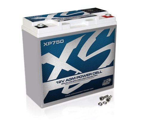 XS Power XP750 XP Series 12V 750 Amp AGM Supplemental Battery with M6 Terminal Bolt by XS Power (Image #1)