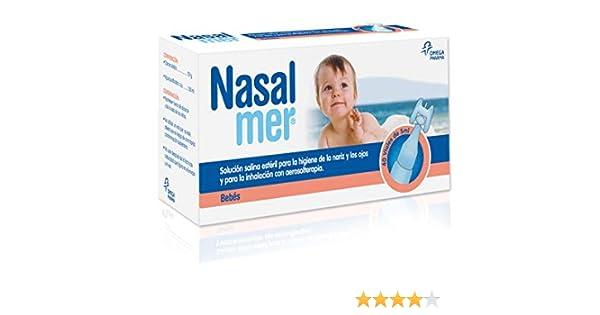 Nasalmer 379315 Solución Salina Limpieza o Lavado Nasal - 40 ...