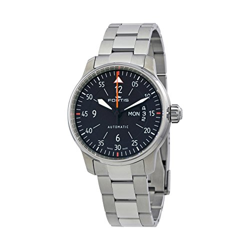 Fortis Cockpit Two Automatic Black Dial Mens Watch 704.21.19 M