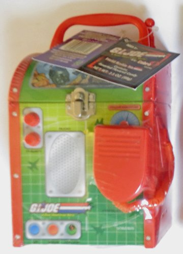GI Joe Vs. Cobra Field Radio Tin: Contains Assorted Flavored Candy