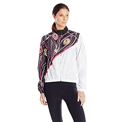 .com : CANARI Women's Peacock Wind Shell Jacket : Clothing