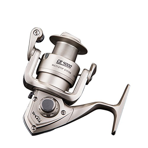 RG CE Professional Outdoor Sport All Metal Strong Corrosion Resistance Fishing Reels Stainless Steel Bearing High Speed Spinning Reel Gear For Fishing Enthusiasts