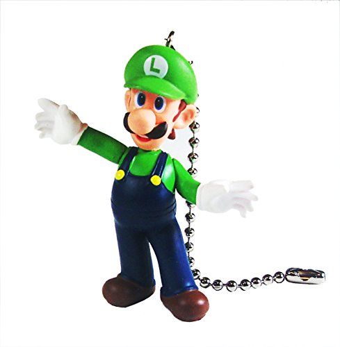 Price comparison product image Mario Bros Ceiling Fan Pull Set by Wooden Androyd Studio (Luigi Alone)