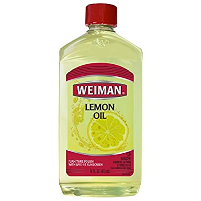 Weiman Lemon Oil Furniture Polish
