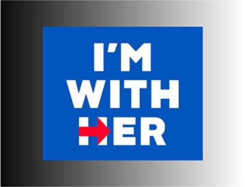 Hillary Clinton President Sticker Decal