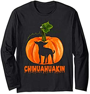Halloween Chihuahua  - Happy Halloween Costume Gifts Long Sleeve T-shirt | Size S - 5XL