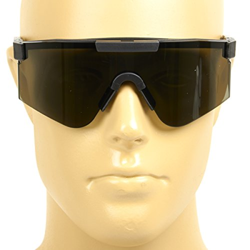 U.S. Military Tactical Ballistic Smoke Tint Shooting Glasses- New in - Glasses Military New
