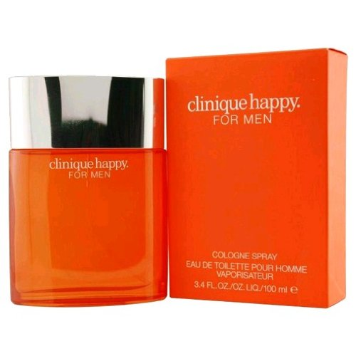 - HAPPY by Clinique Cologne Spray 3.4 oz -100% Authentic