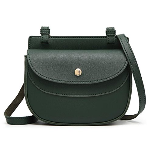 Gkkxue Phone Bag Student Messenger Bag Temperament Messenger Bag Free Woman Fashion (color: Brown) Green