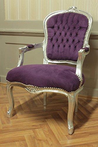 LouisXV Silla barroco, plata golpe, la referencia violeta ...