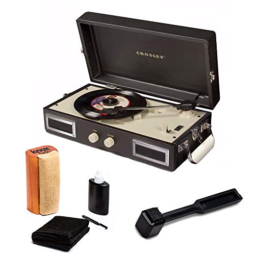 Crosley CR40-BK Mini Portable Turntable Full Stereo for sale  Delivered anywhere in USA