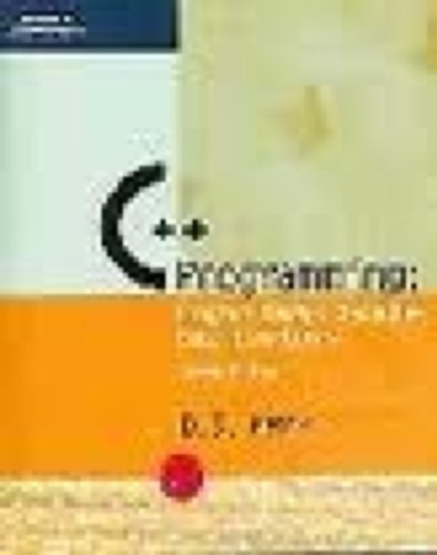 C++ Programming: Program Design Including Data Structures, Second Edition by Brand: Course Technology