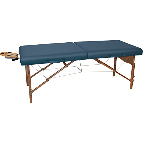 NRG Karma Massage Table Package Including Table, Headrest with Cushion and Carrying Case (Agate)