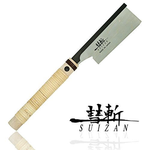 SUIZAN-Japanese-Hand-Saw-6-inch-Dozuki-Dovetail-Pull-Saw-for-Woodworking