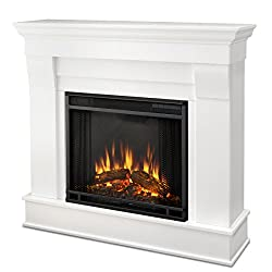 Real Flame 5910E Electric Fireplace, Small, White from Real Flame