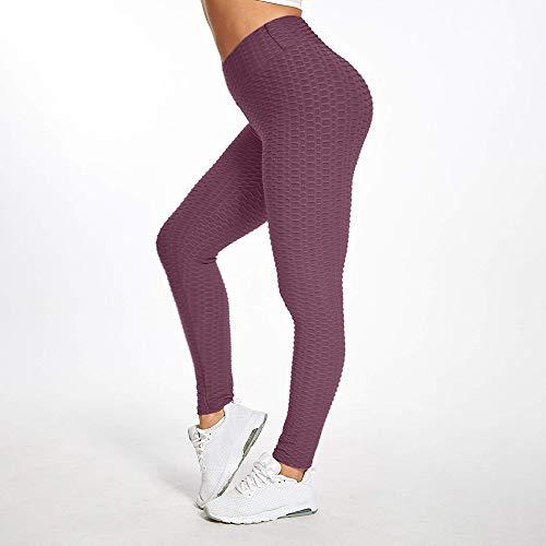 EKUPUZ Yoga Pants-Breathable Hip-Lifting Sweat-Absorbent Sports Yoga Pants Slimming Leggings High Waist Workout Leggings