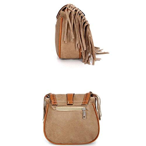 Mujer Europa Y Los Estados Unidos Moda Satchel Borlas Pequeño Paquete Nuevo Mini Bolsas De Hombro Señoras Temperamento De Señoras Bolsa Blue