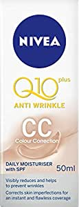 NIVEA Q10 Plus Anti-Wrinkle CC Cream, 50 milliliters