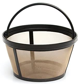 THE ORIGINAL GOLDTONE BRAND Reusable Basket-style 10-12 Cup Coffee Filter with Solid Bottom (B0067NH4F8) | Amazon price tracker / tracking, Amazon price history charts, Amazon price watches, Amazon price drop alerts