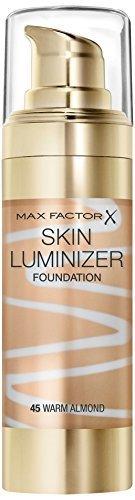 Max Factor Skin Luminizer Foundation, Warm Almond Number 45