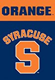 NCAA Syracuse Orange 2-Sided 28-by-40 inch House Banner with Pole Sleeve