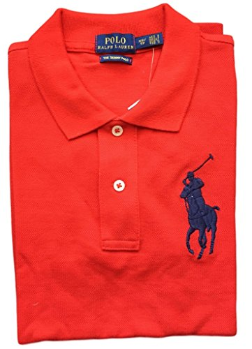 Polo Ralph Lauren Womens Skinny Fit Big Pony Polo Shirt (X-Small, ()
