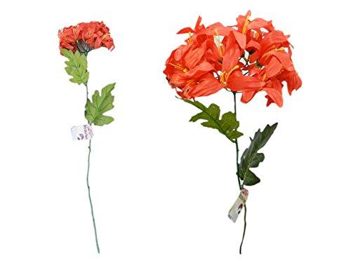 Lily Agapanthus 25.5 Long Ste ,ケースof 144 B07B4GW6GR