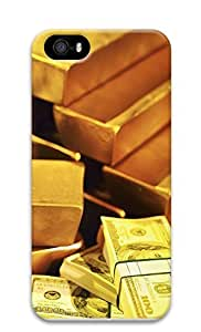 iPhone 5 5S Case Gold and Money 3D Custom iPhone 5 5S Case Cover by Maris's Diary
