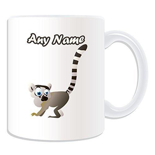 Personalised Gift - Big-Eye Lemuridae Mug
