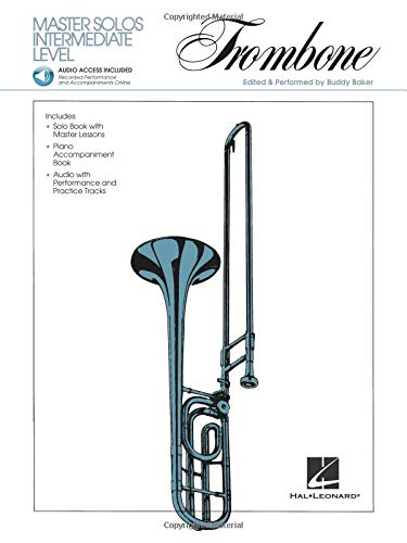 Master Solos Intermediate Level - Trombone: Book/Online Audio