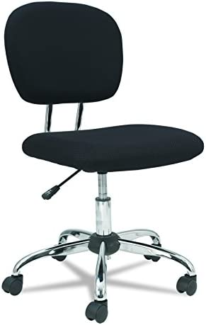 OIF MM4917 MM Series Task Chair, Black Chrome