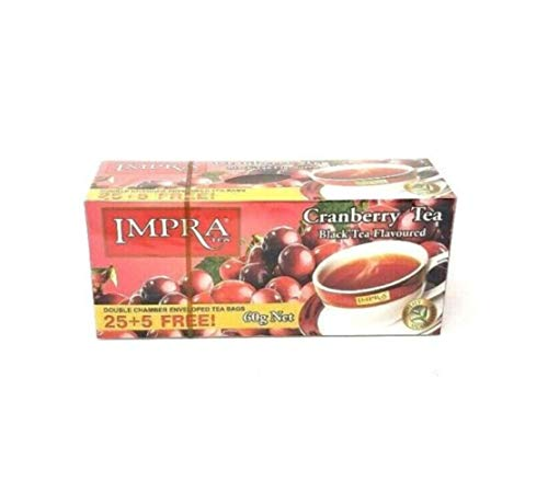 Impra Black Tea Cranberry Flavoured 60g