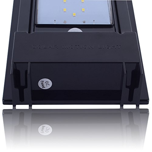 LED Waterproof Wireless Solar Powered PIR Motion Sensor Wall Light SL-7L5S by H&B Luxuries (Image #5)