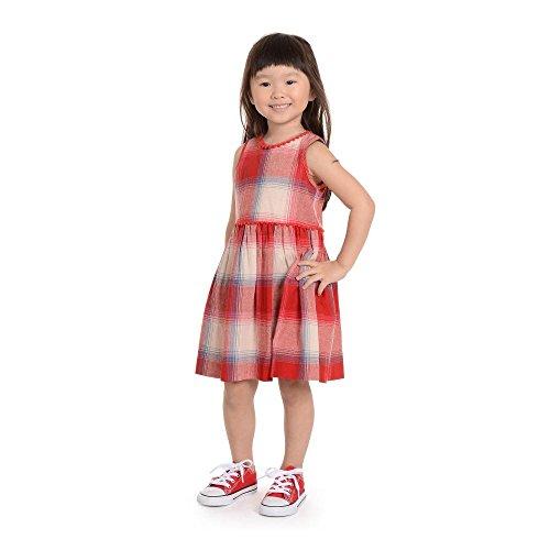 PIPPA & JULIE Trista Plaid Dress, Red, 6