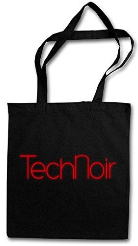 TECHNOIR II Hipster Shopping Cotton Bag Cestas Bolsos Bolsas de la compra reutilizables �?Los Angeles Club Terminator Technoir Cyber Movie TV