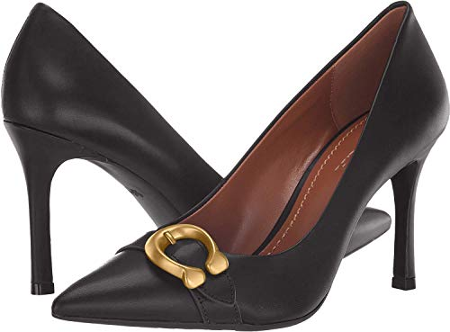 COACH Women's Waverly 85mm Pump with Signature Buckle