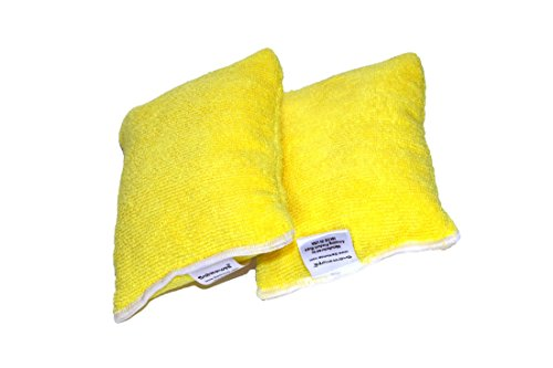 Microfiber Sponge 2 PACK Auto Detailing - Kitchen and Home C