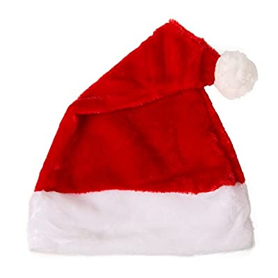 Besteamer Christmas Santa Claus Costume Set Men's Deluxe Santa Suit