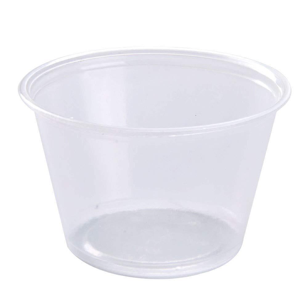 MarketPro Polypropylene Souffle Cup Clear 1 oz. | 2500/Case by MarketPro