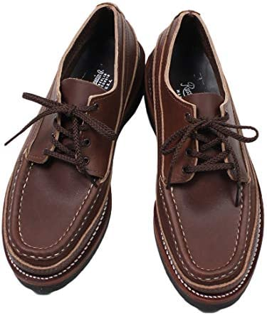 (ラッセル モカシン) RUSSELL MOCCASIN ONEIDA SINGLE VAMP - CHOCOLATE OIL TAN