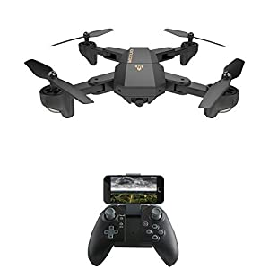 SGOTA RC Drone Foldable Flight Path FPV VR Wifi RC Quadcopter 2.4GHz 6-Axis Gyro Remote Control Drone with 720P HD 2MP Camera Drone by SGOTA