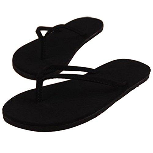 Chanclas Zapatos Mujer Mujeres 3 Interior Verano Sandalias OHQ De Planas Sandalias Romanas Barato Chanclas Exterior Negro Negro Café De Zapatillas Sandalias Chanclas Sra Y De Elegante para EwIwq7O